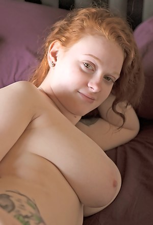 Naked girl average chubby